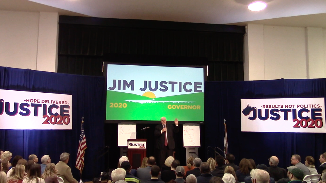 Governor Jim Justice announces run for re-election in 2020