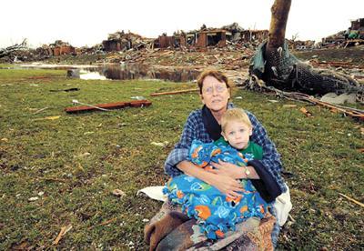 The Joplin tornado — Six miles of
