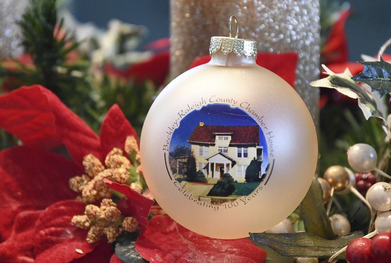 Christmas ornament honors chamber's 100th anniversary