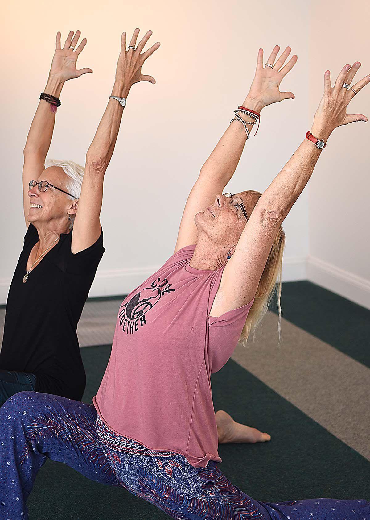 Duo helping people find freedom in prison through yoga