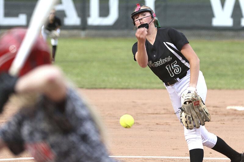 Prep softball roundup: Hylton throws perfect game