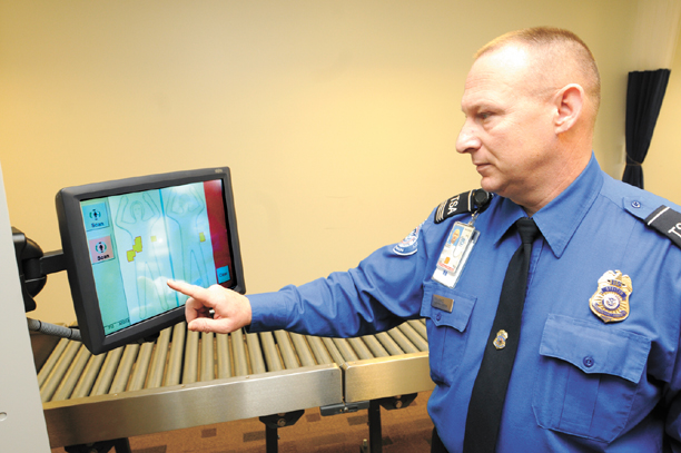 Passenger screening system installed at Greenbrier Valley