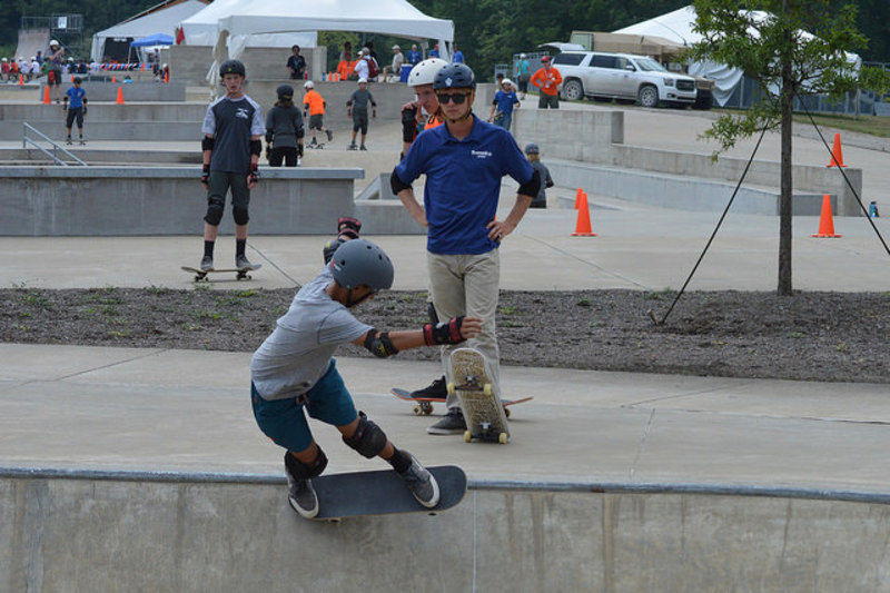 Scouts take a thrill ride with skateboarding, BMX and bow shooting at Jamboree
