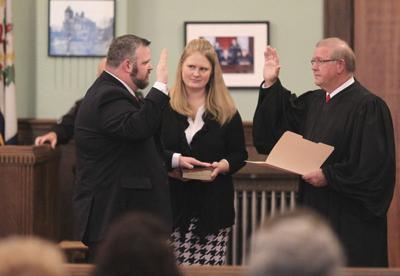 Harrah sworn in as Fayette prosecutor