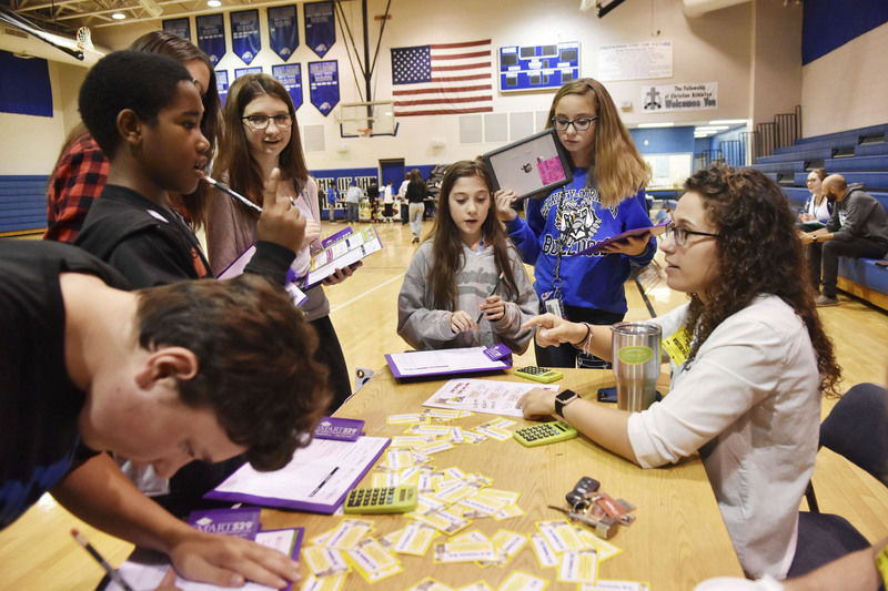 Beckley Stratton students experience realities of life after high school