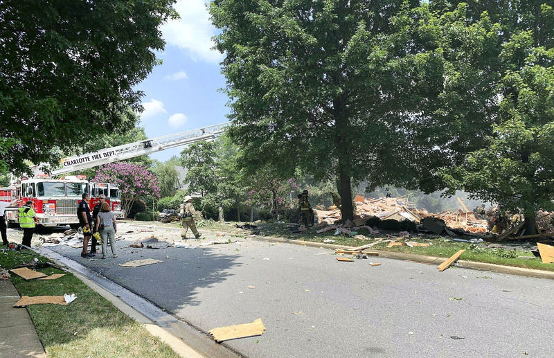Beckley cardiologist seriously injured in N.C. explosion, wife killed