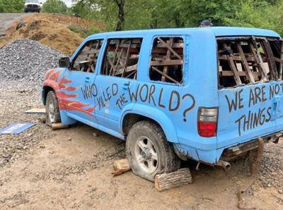 Pipeline protestor arrested in Giles County