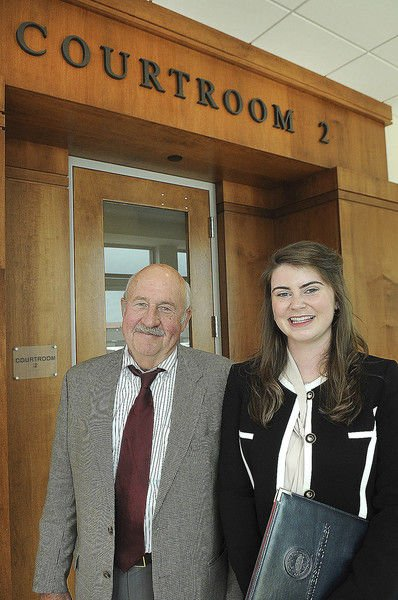 Local intern gets hands on experience at prosecutor's office