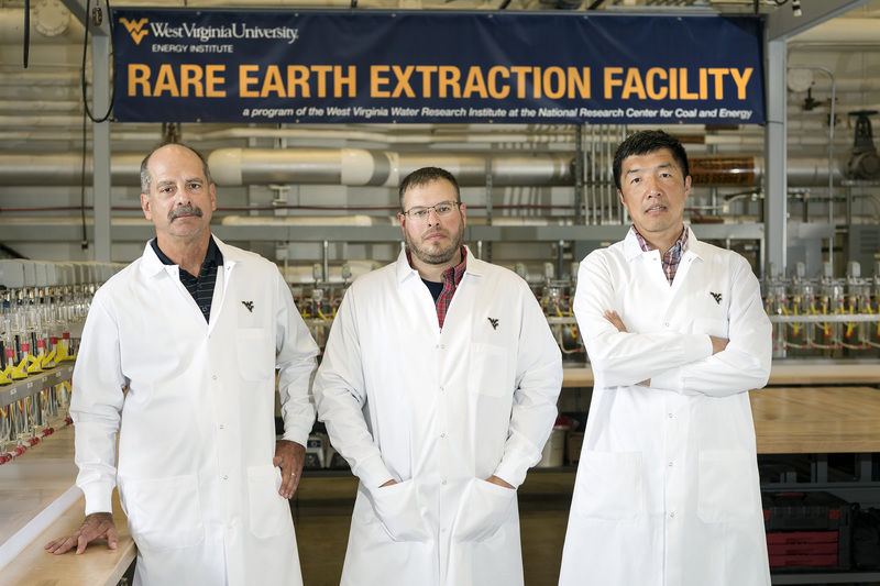 Summersville native operator of state-of-the-art rare earth facility
