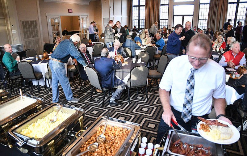 Annual event kicks off with breakfast