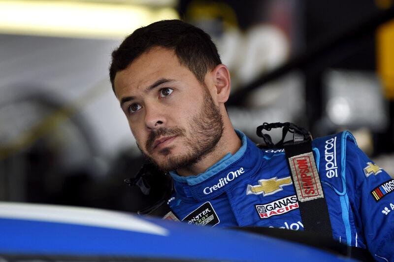 Larson grateful for 2nd chance in NASCAR after racial slur