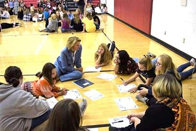 Capito, Fox News Host Shannon Bream take 'Girls Rise Up' program to Raleigh County