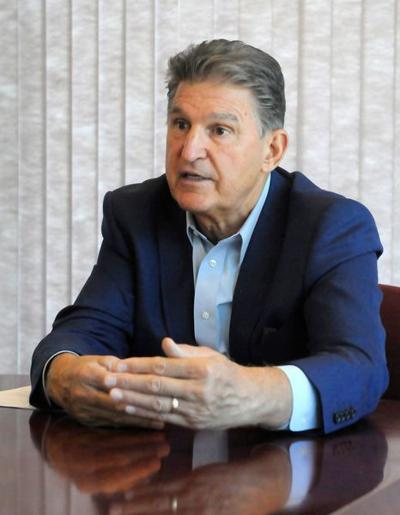 Manchin takes on array of issues