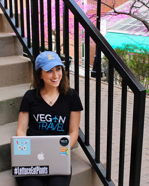 Miluk eager to share vegan adventures overseas