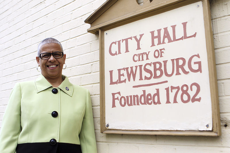 "A whole new ballgame Mayor-elect sees herself as ""cheerleader for our city"""