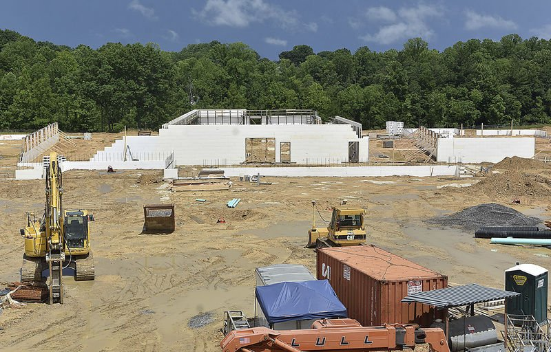 Fayette superintendent reports school construction to be completed in three phases