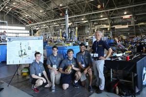 WVU team is second in Mars Ice Challenge