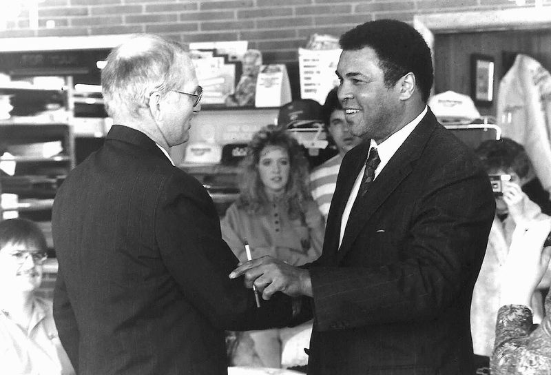 Muhammad Ali had ties to Fayetteville community