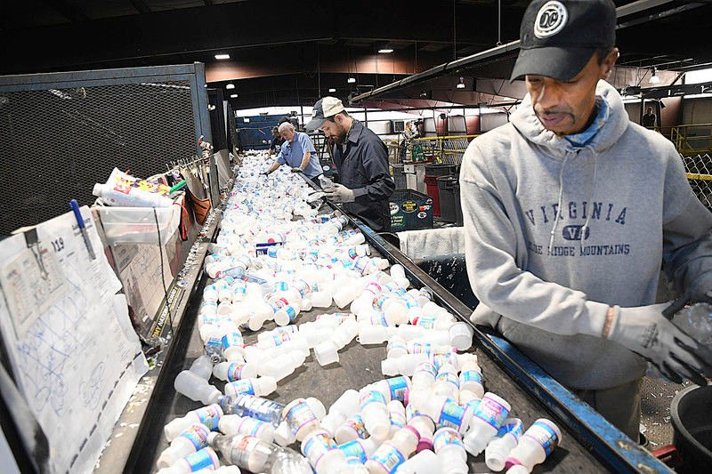 Two Raleigh County Schools recycle 500 pounds of plastic