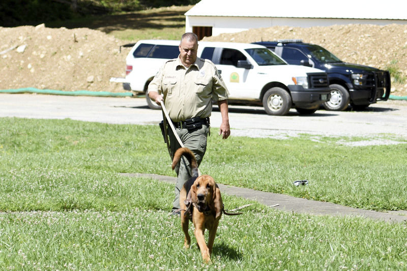 Don Kelley and bloodhound partner Raisy named K-9 Team of the Year