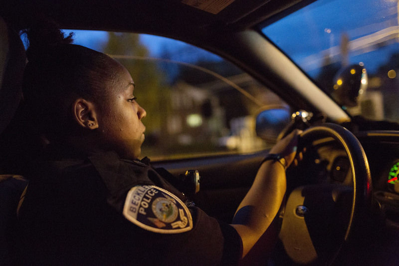 """""""It's no big deal,"""" says Beckley's first black female police officer"""
