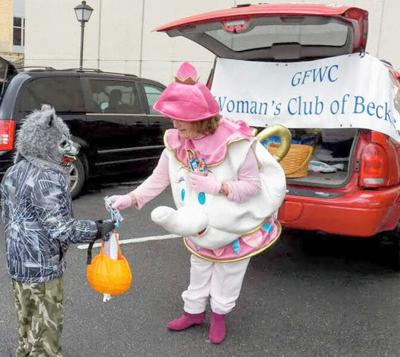 Trick or treat at the Woman's Club Oct. 24