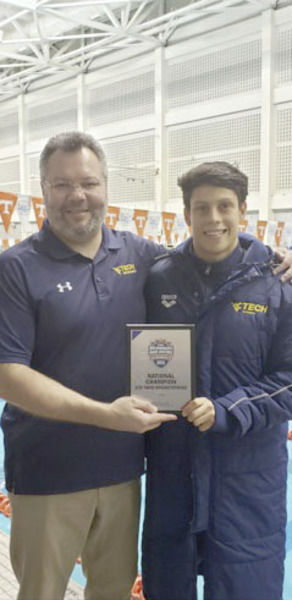 Tech swimming looks to keep making waves