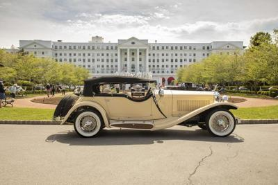 1933 Isotta-Fraschini wins best of show honors at 2021 Greenbrier Concours d'Elegance
