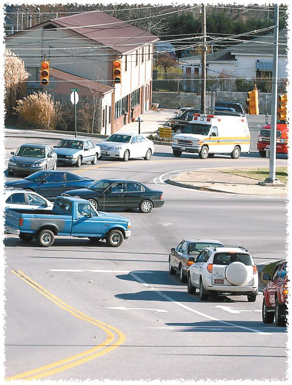 Vehicles Pass Through The Intersection Of Robert C. Byrd Drive And Maxwell  Hill Road In Beckley, Which Is Just One Of Several Intersections Where Red  Light ...
