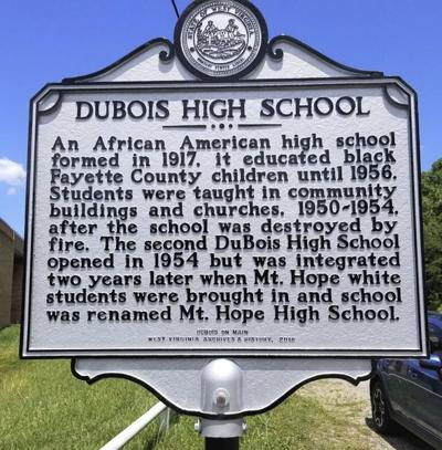 DuBois High marker to be dedicated | News | register-herald com
