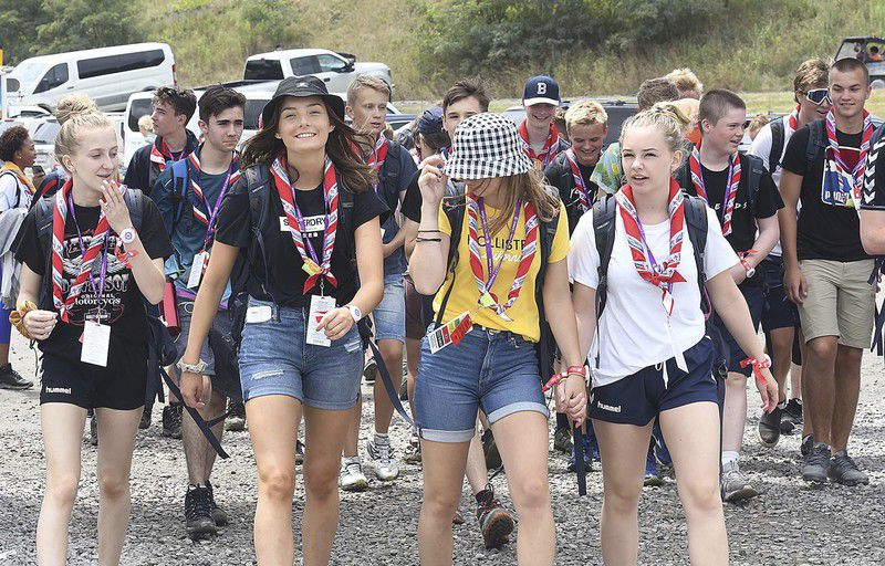 Females populate almost half of the World Scout Jamboree