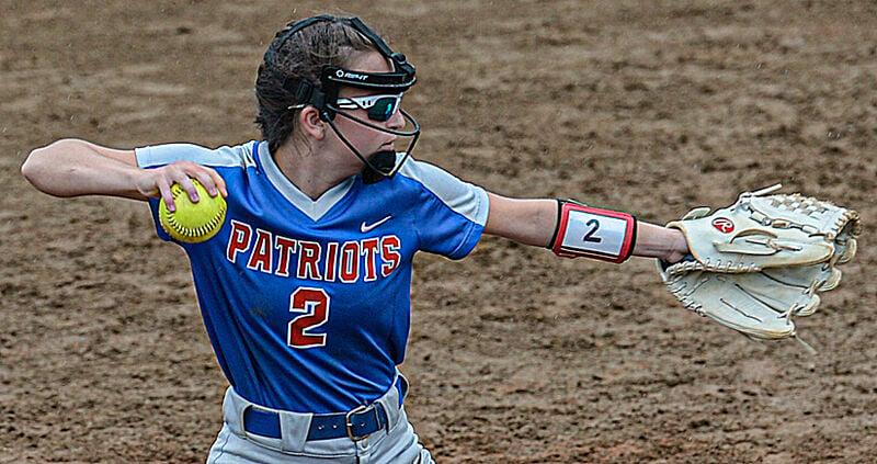 Patriots capture Region 3, Section 2 softball crown