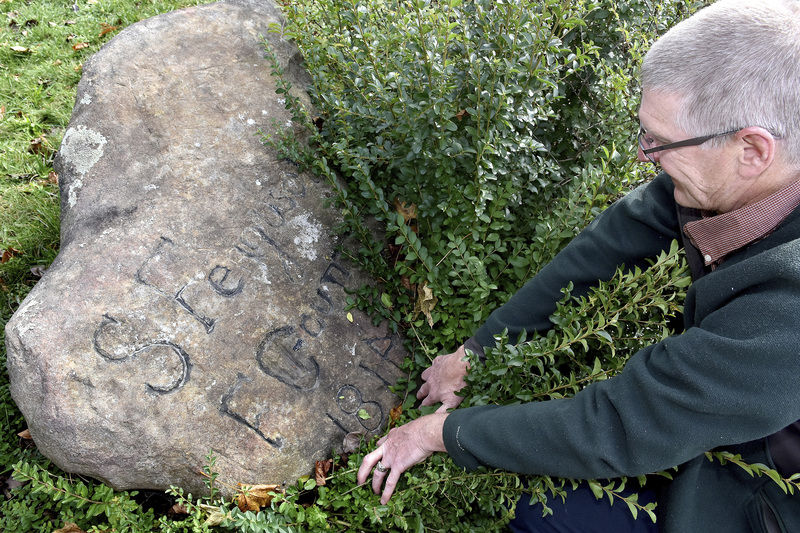 Ferguson rock, the city's oldest known landmark, to be moved