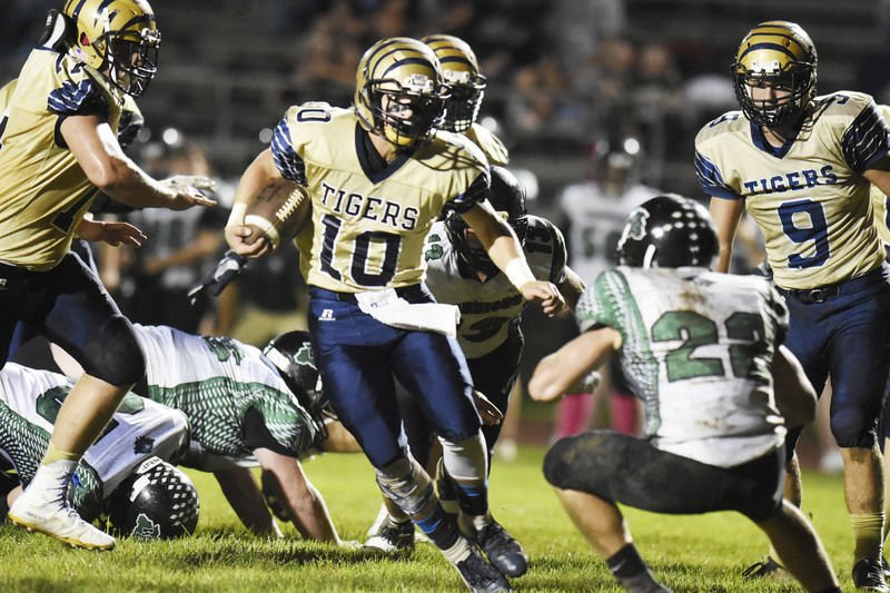 Tigers run over Warriors for shutout