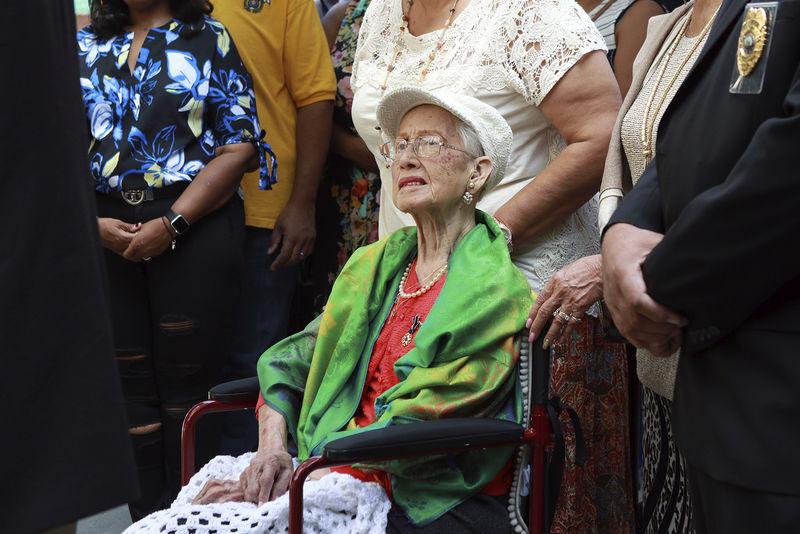 Katherine Johnson marks 99th birthday in Spa City