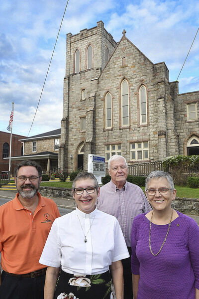 Community united in church merger