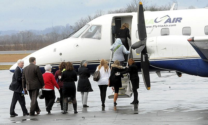 ViaAir takes off from Raleigh Memorial