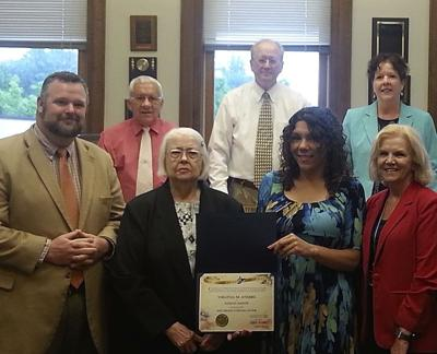 Glen Ferris woman recognized for 66 years of dedicated voting
