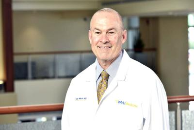 WVU chief health officer Dr. Clay Marsh