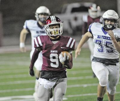 Bluefield scores 42 in first quarter to beat James Monroe