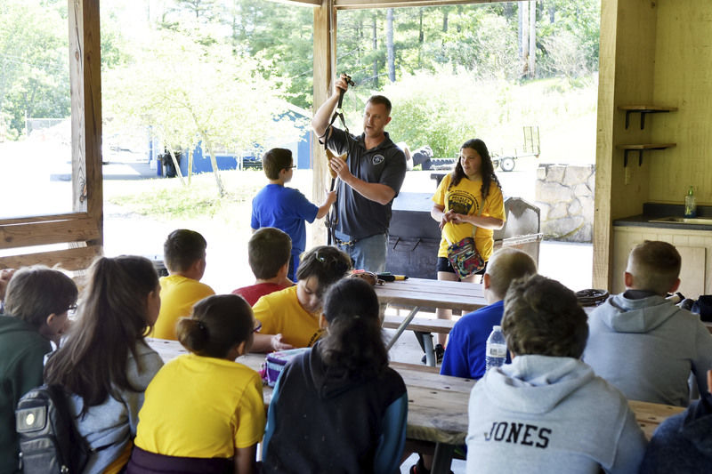 Local youth learn about law enforcement during Junior Police Academy
