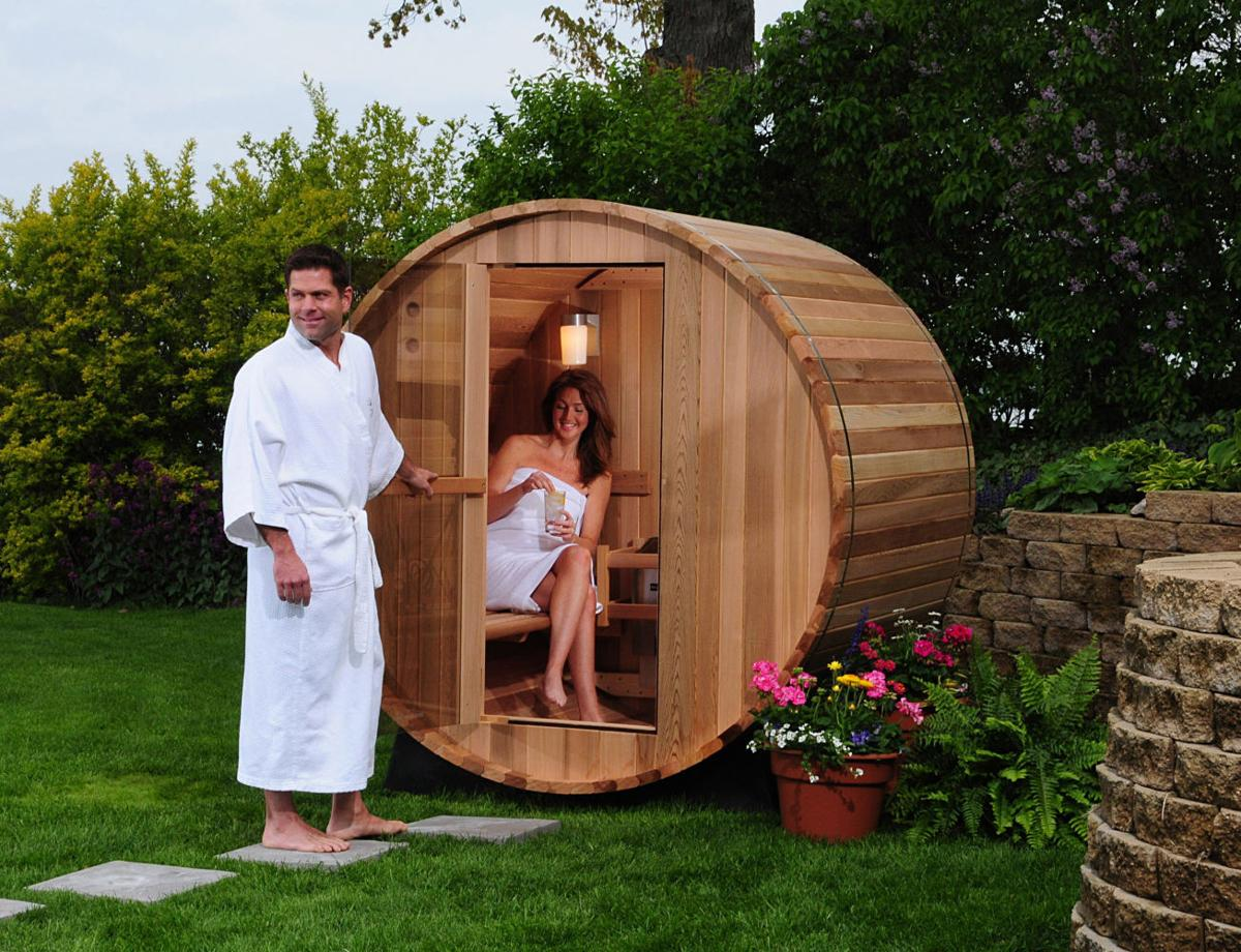 greenbrier sauna maker a hit around the world news. Black Bedroom Furniture Sets. Home Design Ideas