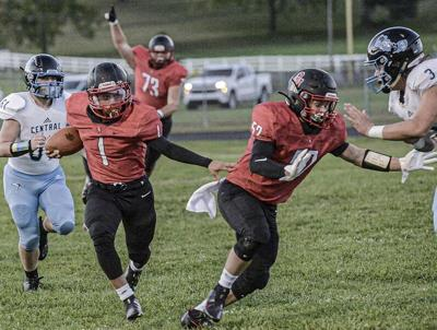 Prep football notebook: Good news on the Covid map, Dodrill shines, a night of firsts