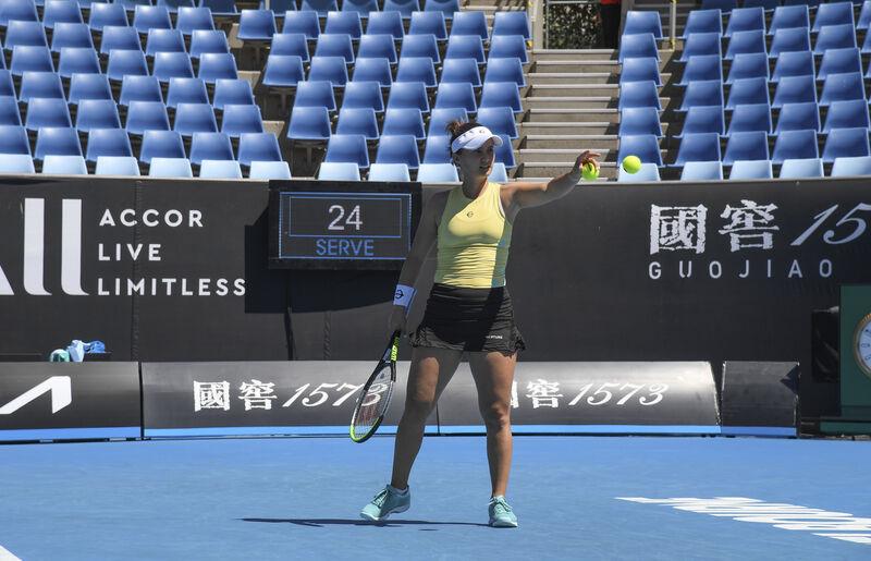 A win is a win: '20 Australian champ Kenin gets by in 2 sets