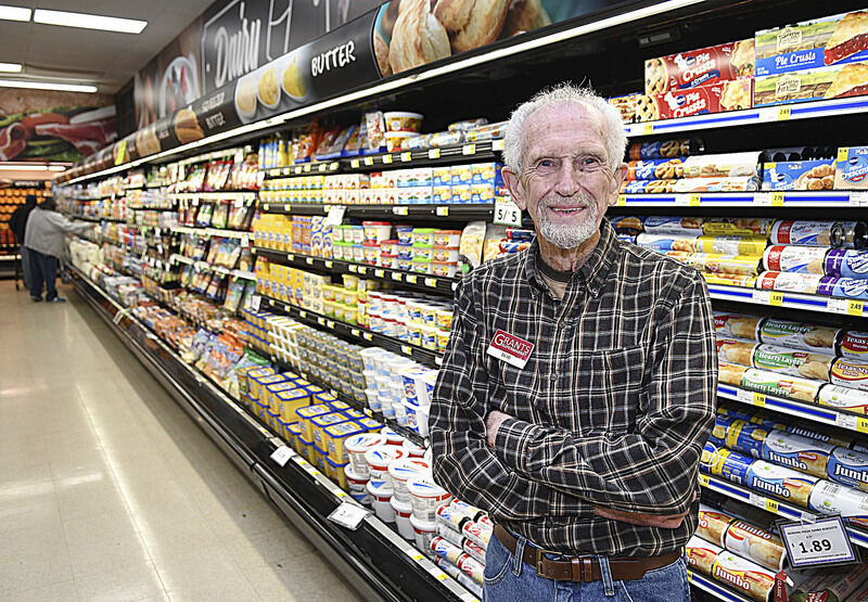 Local grocery store employee retires after 56 years