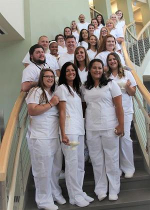 New River CTC celebrates practical nursing graduates