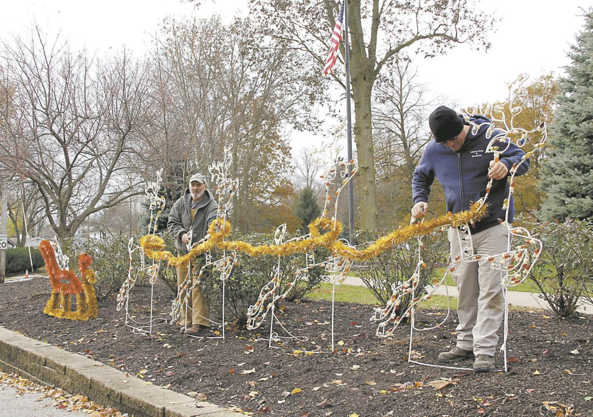 Lebanon Parks Department readying for Christmas