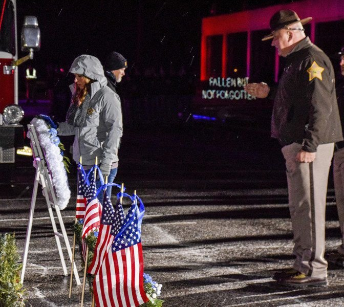 Ceremony remembers fallen officers