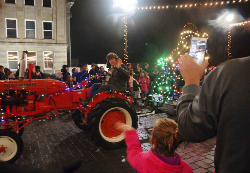 Christmas parade is a hit with families
