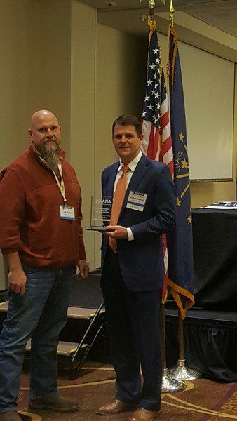 Boone Commissioner receives state award